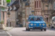Marius Hanin French Driver Motor1 Tour Auto Peter auto renault 8 Gordini