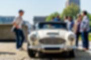 Austin Healey 100Z  Cars and Coffee ® Normandie Marius Hanin