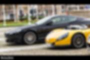 Aston Martin DB9 & Renault Spider
