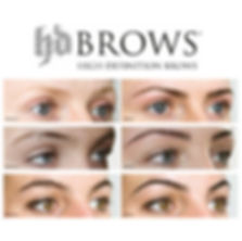 HD Brows transformations