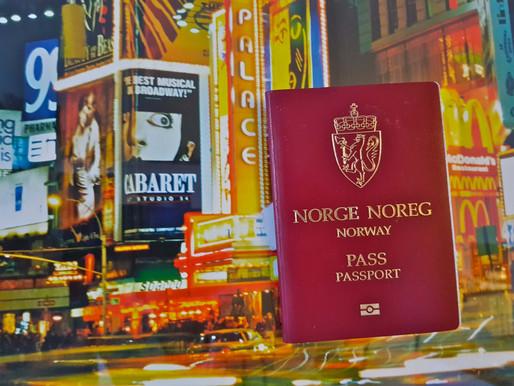 Ola Nordmann kan besøke 184 land uten visum!