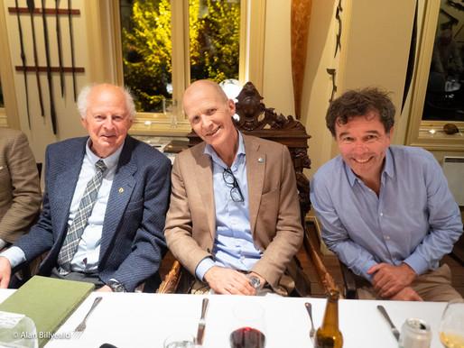 Hyggelig besøk av Thor Heyerdahl jr og Martin Biehl