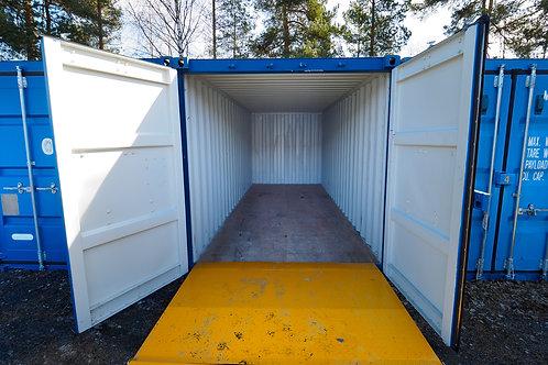20 for container, pris pr mnd. minimum 30 dager