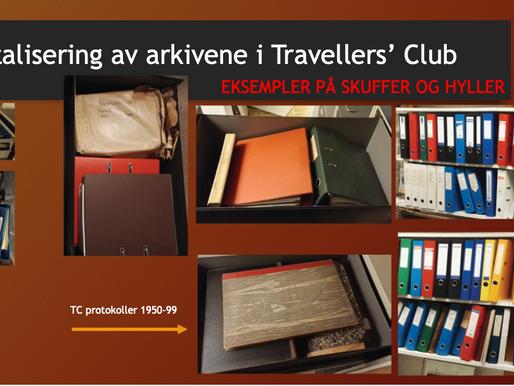 Fortid og Fremtid i Klubbens arkiver