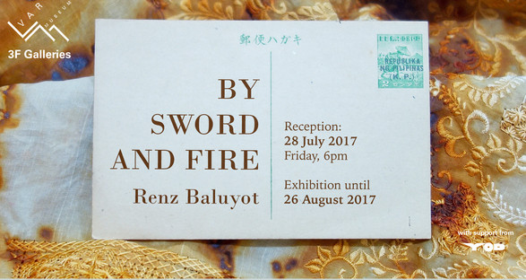 By Sword and Fire - invitation