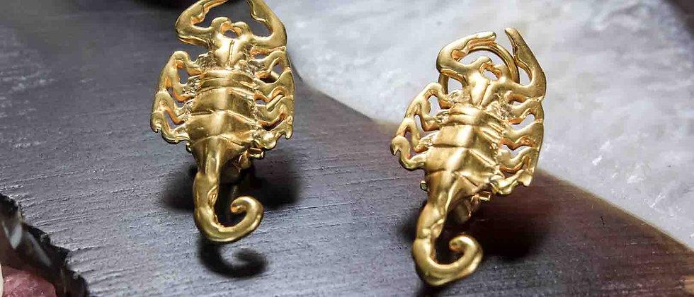 Aretes Pequeños Escorpion