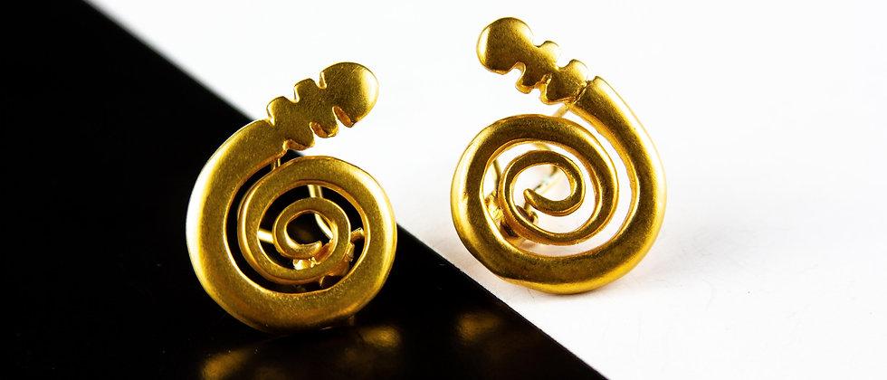Aretes Espiral Mediano