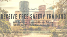 Receive Free Safety Training with Each New Hire