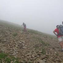 Arribant al cim del Fontnegra