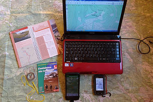 Curs d'orientació amb GPS i mapes digitals