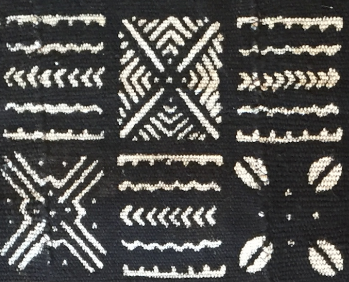 geo african mud cloth