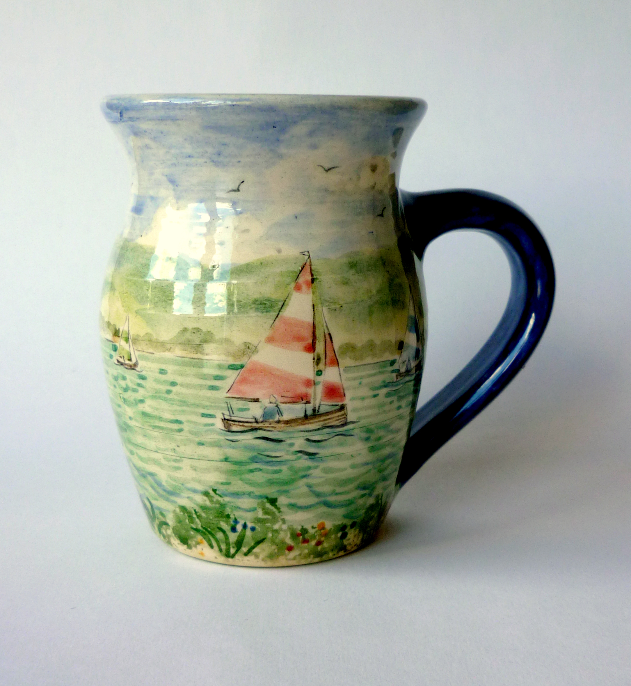 David Salsbury lake boats mug