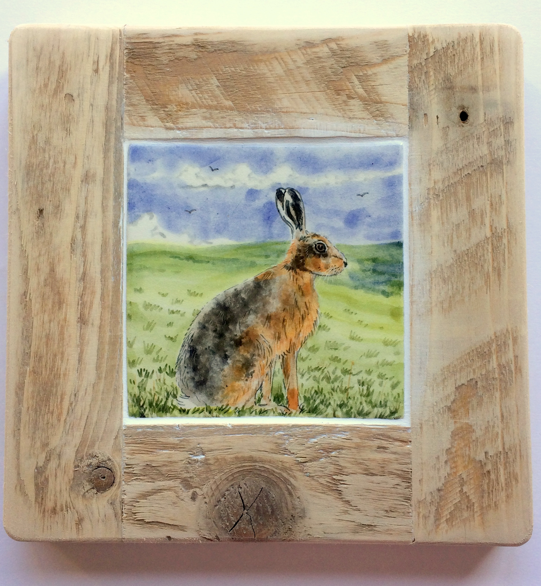 David Salsbury Hare tile