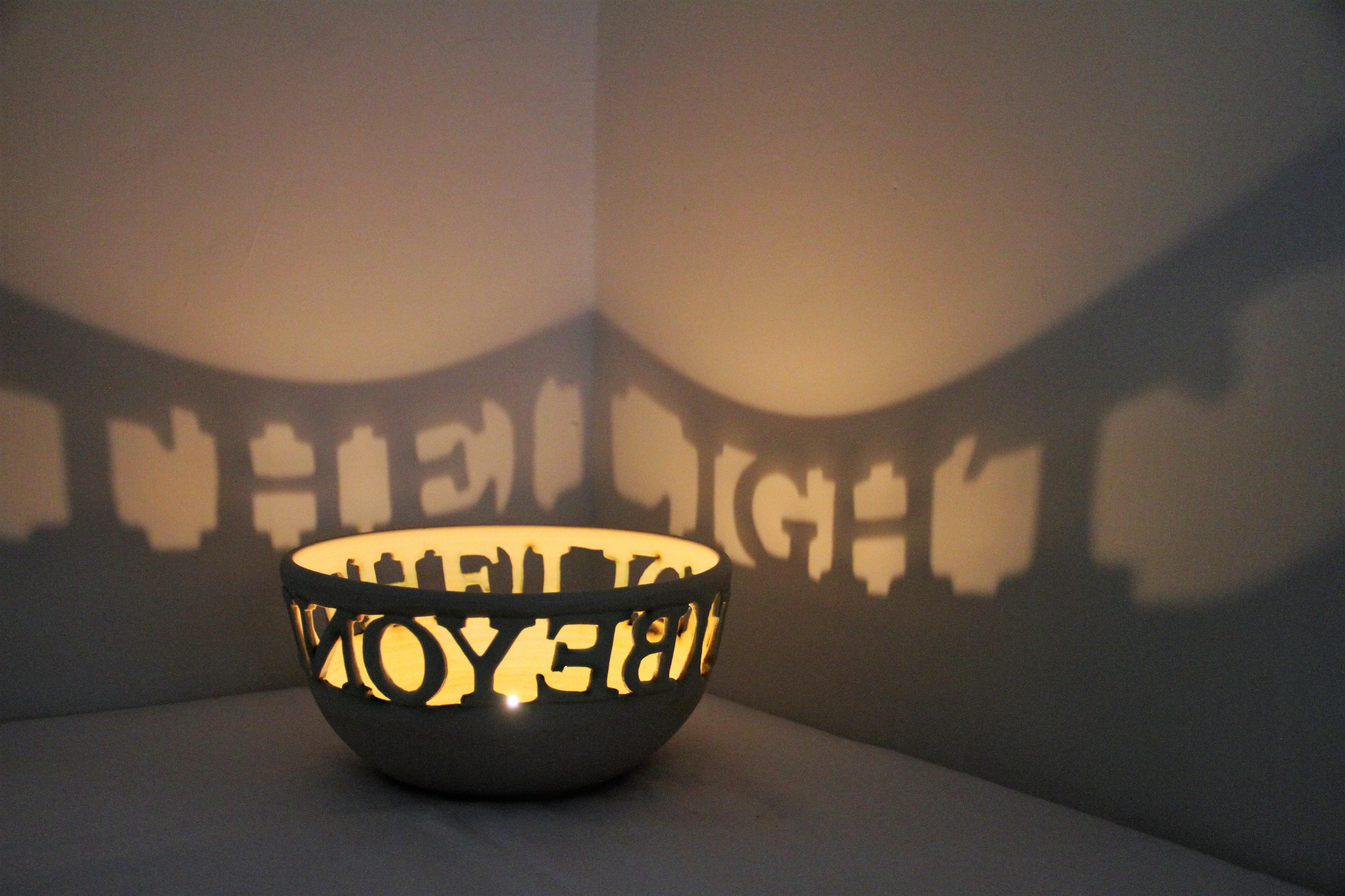 Beyond The Light Stoneware 20cm x 13cm £