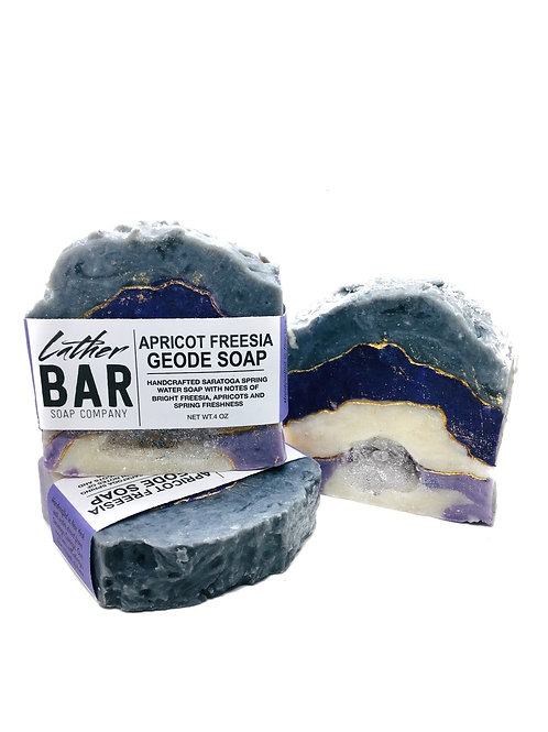 Lather Bar Geode Soap