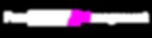 logo four music en linea blanco-rosa tra
