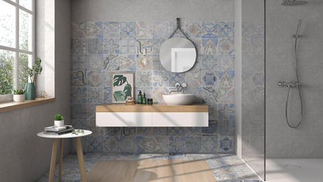 Empoli Senesi Patterned Tiles