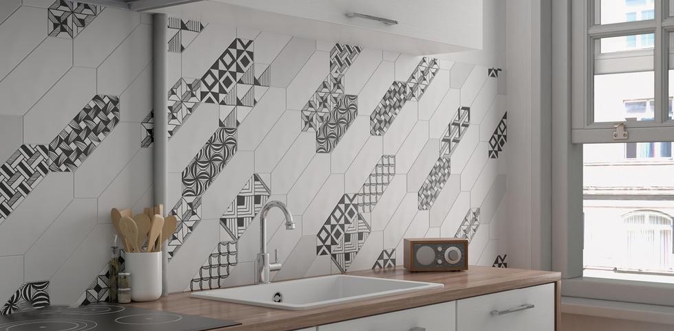 Shapes Decorative Tiles