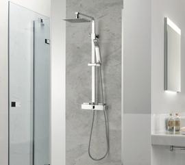 Flat External Shower Set