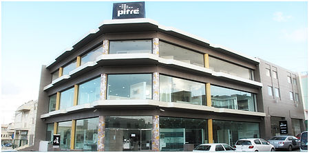 Pitre' Bathrooms showroom in Qormi Malta