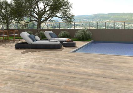 Outdoor & Deck Wood Tiles