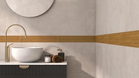 Concrete & Stone Bathroom Tiles