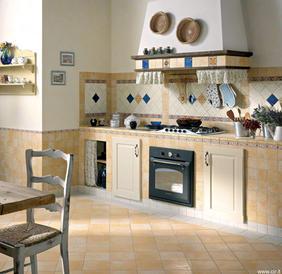 Cottage Style Kitchen Tiles