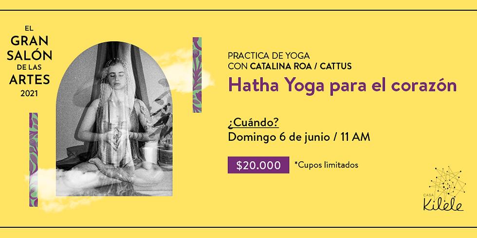 Hatha Yoga con Catalina Roa