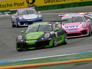 Saisonauftakt Hockenheim: Sandro Kaibach fährt zweimal in die Punkte