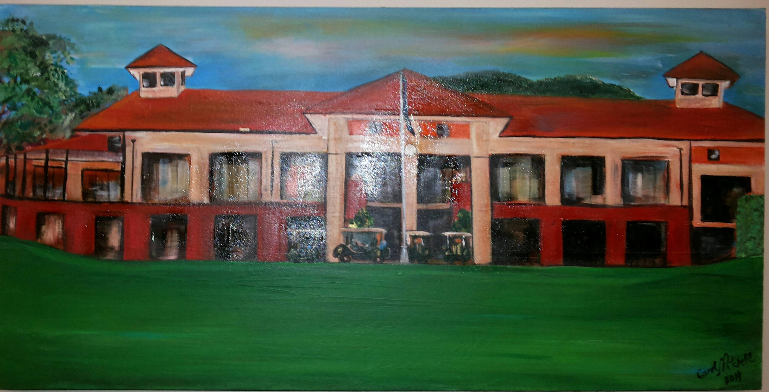 R.C.G.C. CLUBHOUSE
