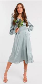 Lichtblauw kleedje - maat 38