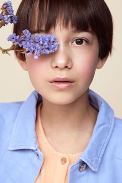 Model: Lila Agency: Jackie Lee Hair & make-up: Elise Vanderbruggen