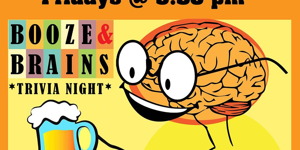 Booze & Brains Pub Trivia