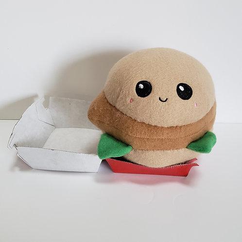 Chicken Sandwich Plush Kawaii