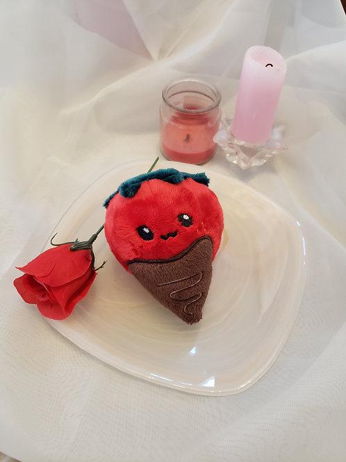 Chocolate Covered Strawberry Plush