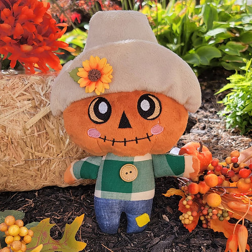 Barley the Pumpkin Scarecrow