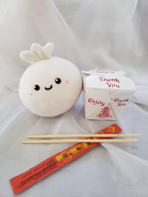 Cute Kawaii Bao Dumpling Plush