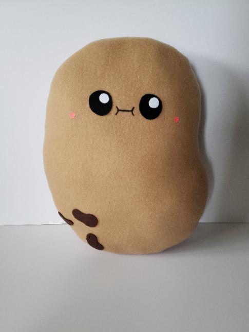 Cute Kawaii Large Potato Plush