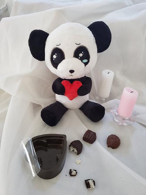 Edgar the Sad Panda plush