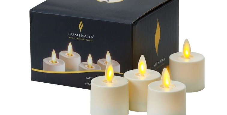 Tealight Luminara  4 Uds