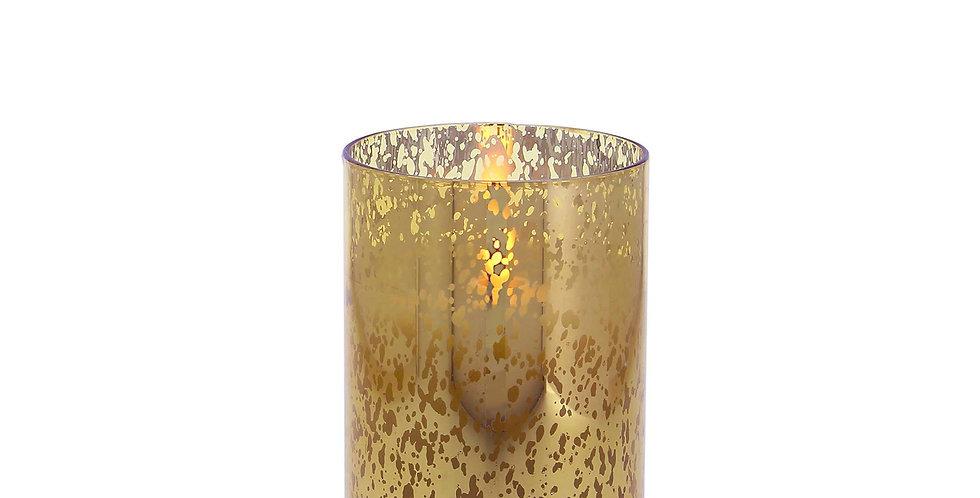 8cm x 13cm Mercury Glass Gold