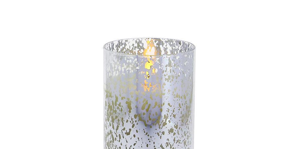 8cm x 13cm Mercury Glass Silver