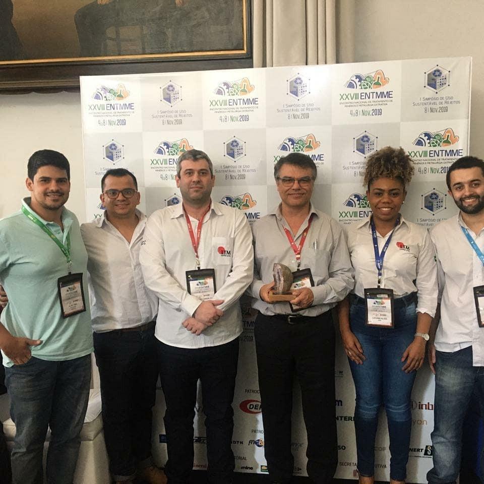 Equipe LTM durante o ENTMME 2019