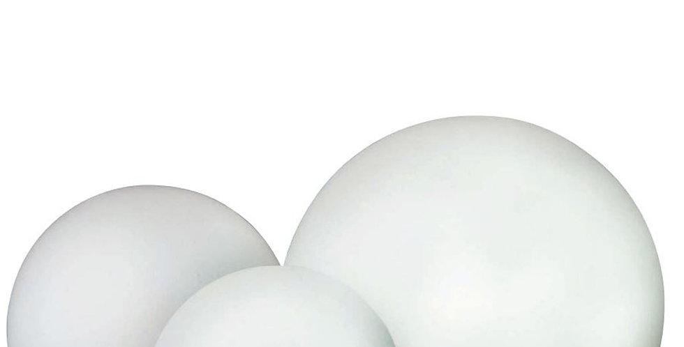 Outdoor lamp sphere