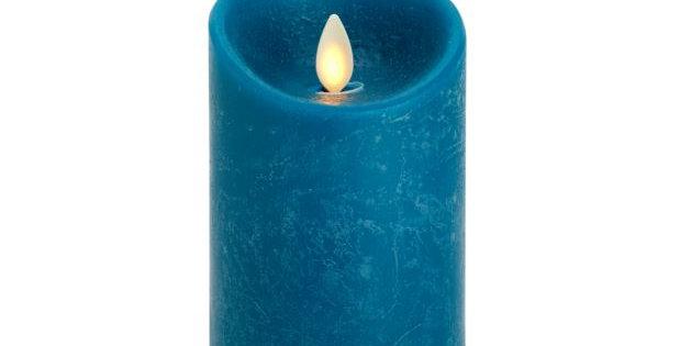 8cm x 13cm Vintage Blue