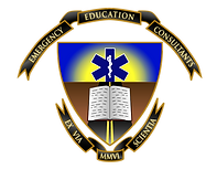 Logo of emergency education consultants, which provides emergency medical education to EMS agencies and hospitals, including continuing education programs and RTPs.