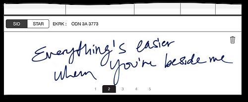 TAILLOG: Handwritten notes