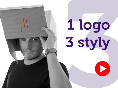 Jak navrhnout logo ve třech různých stylech
