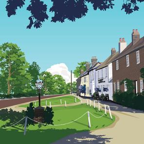 Stock village, Essex