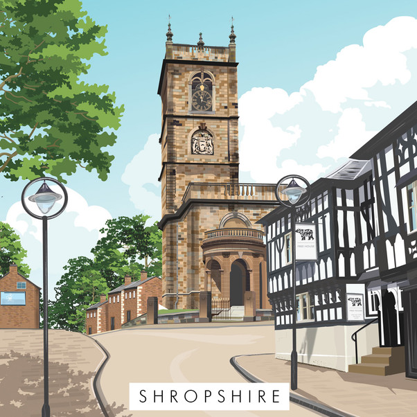 Shropshire prints